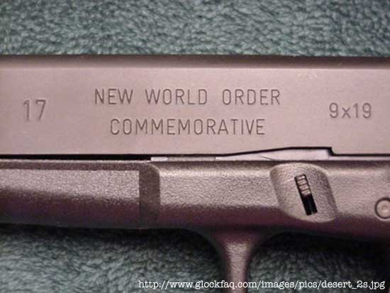 New World Order/Commemorative Glock 17