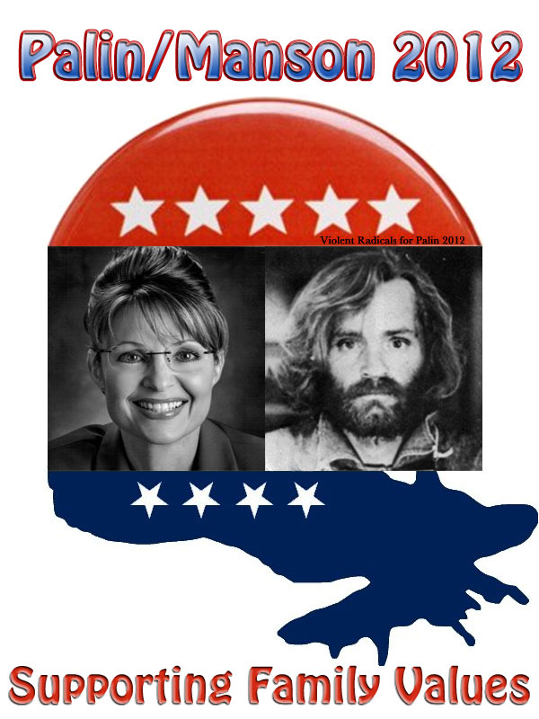 Palin/Manson 2012 - Supporting Family Values