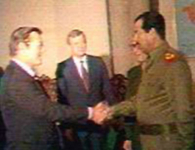 Donald Rumsfeld Taught Saddam Hussein How To Gas the Kurds