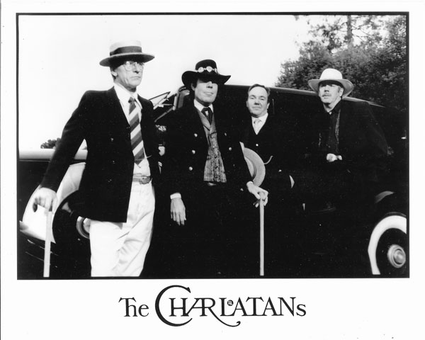 Charlatans 1997, just before screening of Life & Times of the Red Dog Saloon at Mill Valley Film Festival.