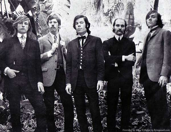 George Hunter, Dan Hicks, Mike Wilhelm, Mike Ferguson, Richie Olsen The Charlatans, 1964, Golden Gate Park Conservatory