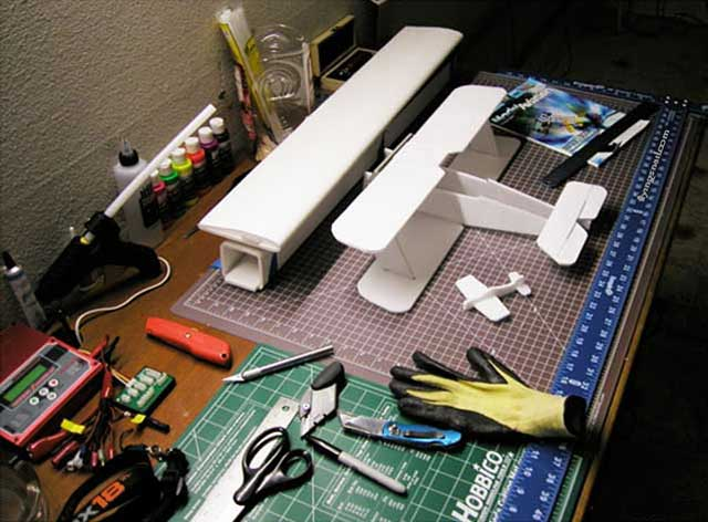 Radio Control Foamie Workstation