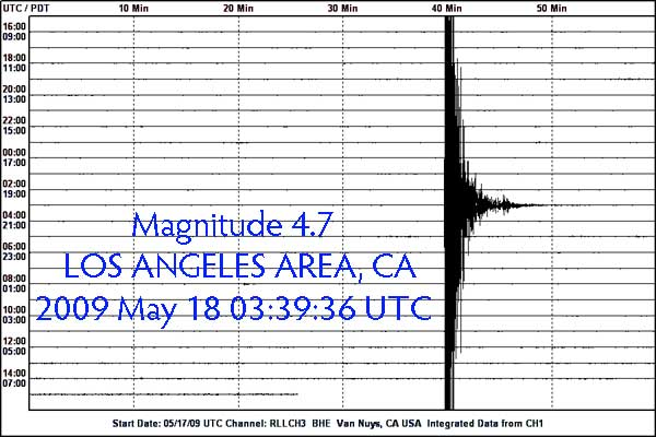 4.7 L.A. Quake May 18th, 2009