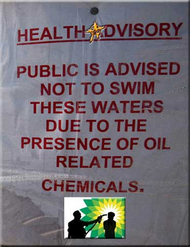 Health Advisory: BP Oil Destroyed the Gulf of Mexico and NOBODY WENT TO JAIL = Eff'n Congress Hates 'THE PEOPLE' and loves corporate pigs
