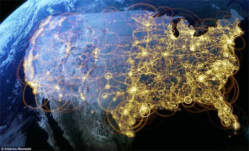 United States Connectivity Map