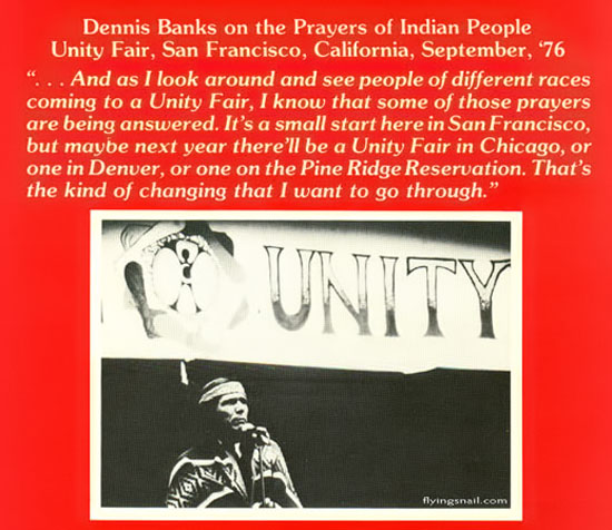 Dennis Banks on the Prayers of Indian People