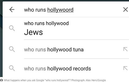 Who runs Hollywood? Google has an answer