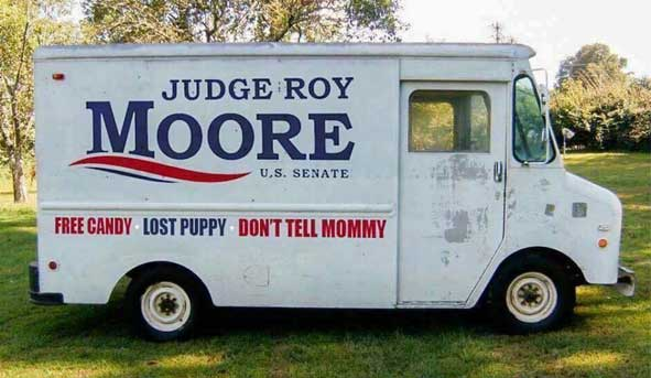 Free Candy ~ Lost Puppy ~ Don't tell Mommy ~ Don't Forget to Vote