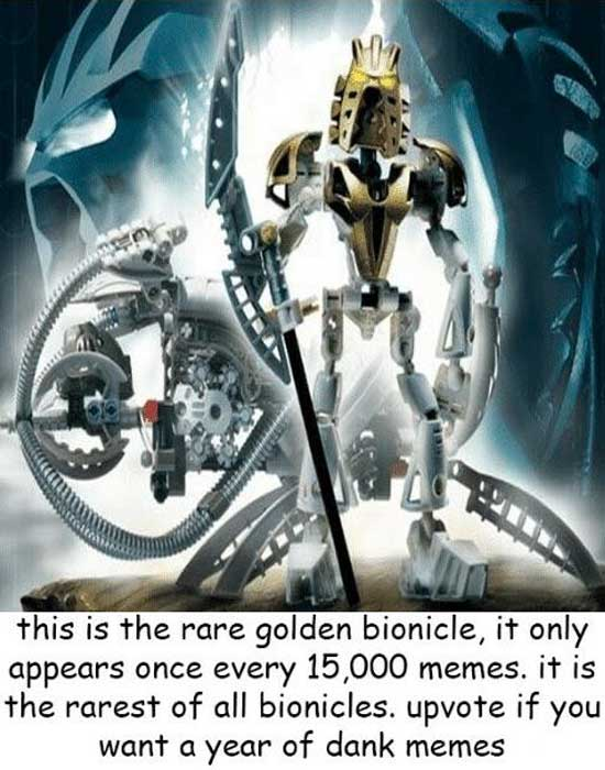 Golden Bionicle