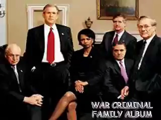 War Criminals who got away with murder and were Pardoned by Obama for crimes against humanity