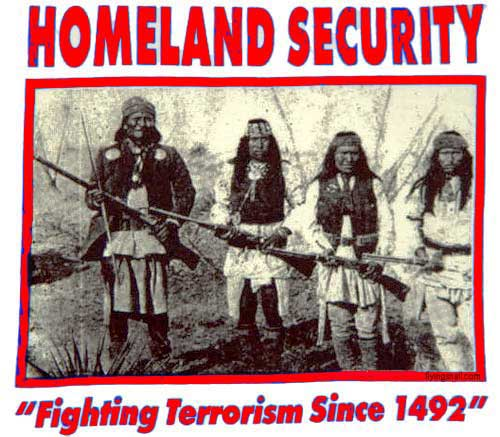 Native Americans Have Been Fighting Terrorism Since 1492