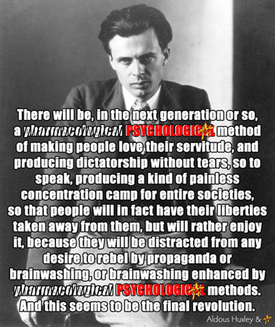 Aldous Huxley: The Ultimate Revolution