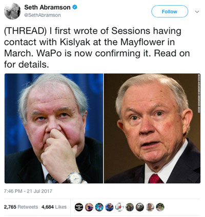 Sessions and Kislyak