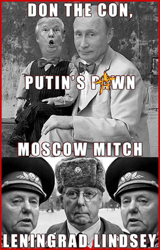 GOP Republican Moscow Crew?