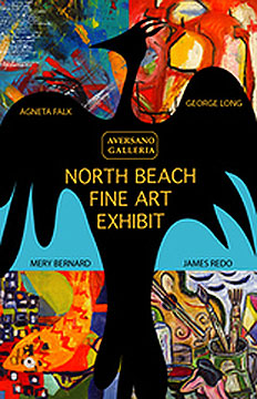North Beach Fine Art Exhibit Poster