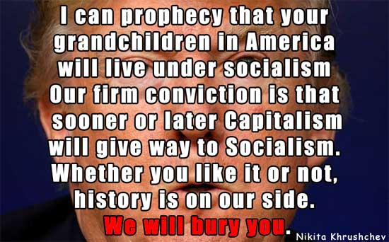 Nikita Khrushchev Quote on America