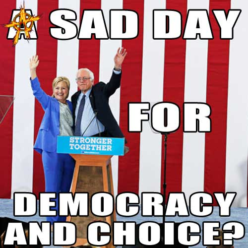 A Sad Day for Democracy and Choice?