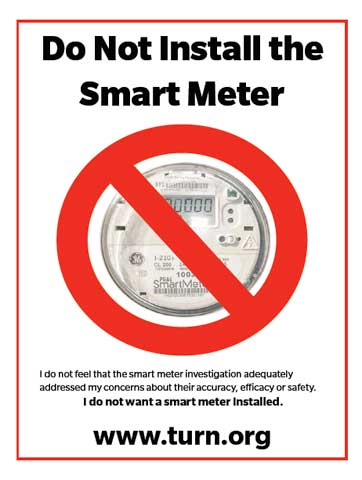 Do Not Install A SmartMeter Here