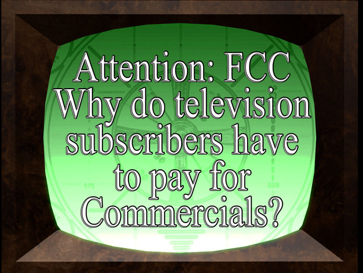 Nobody's opinion on Paying for Subscription TV Commercials