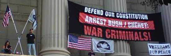 Veterans For Peace (VFP) - ARREST BUSH/CHENEY WAR CRIMINALS